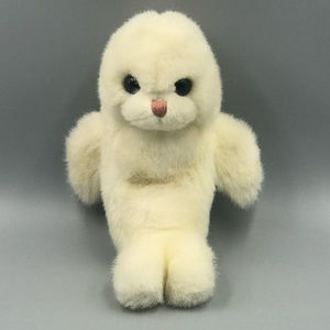 TY Plush Animal Misty White Baby Seal